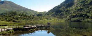 L'étang de Lers en été