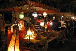 Le marché nocturne de Massat